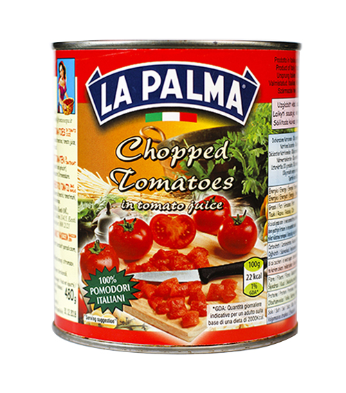 800gr chopped tomatoes