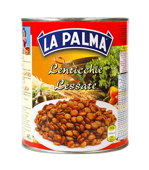 800gr lenticchie lessate