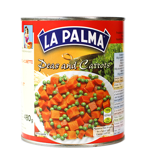 800gr peas and carrots